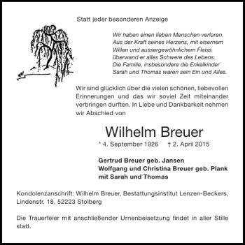 Wilhelm Breuer