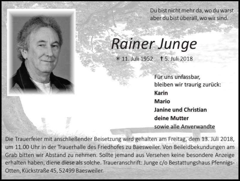 Rainer Junge